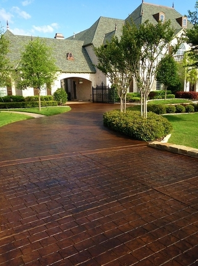 stamped concrete contractor in San Jose