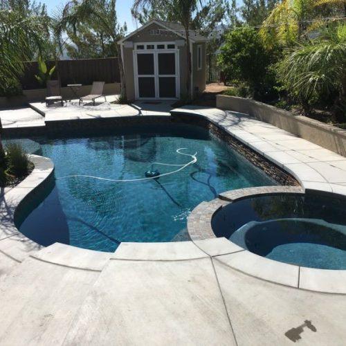 Concrete pool deck construction san jose california